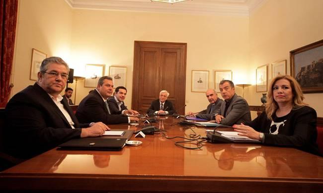 Five political leaders issue joint Communiqué