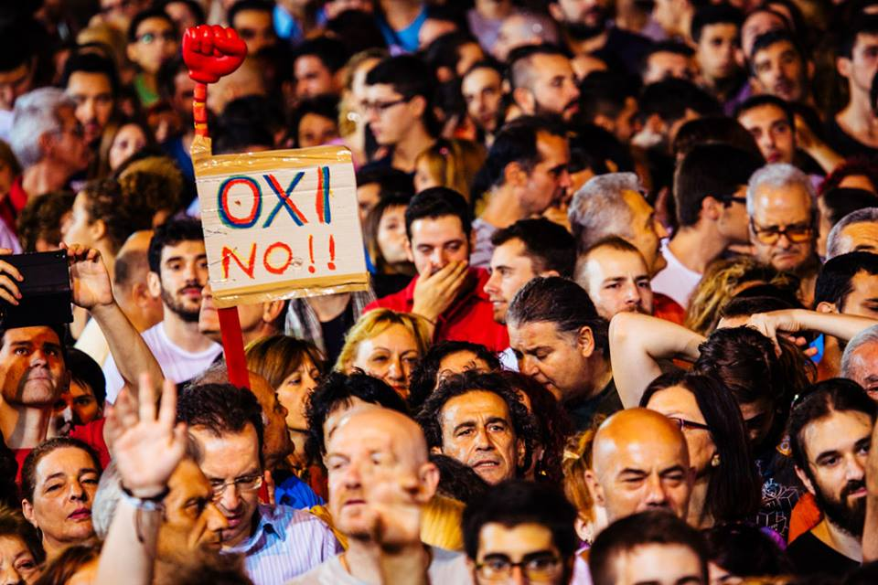 """""""No"""" vote wins by a landslide in Greek referendum"""