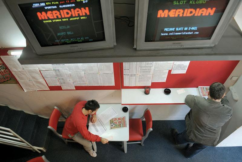 People in FYROM have turned to gambling to make their ends meet
