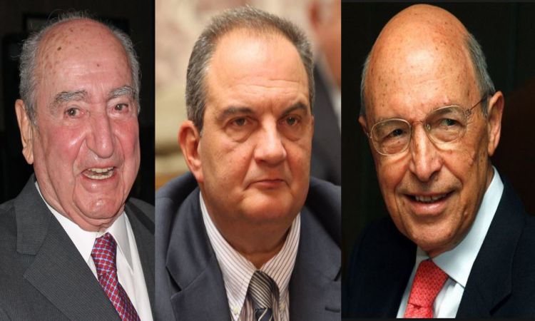 Former PMs Simitis, Karamanlis and Mitsotakis advocate for 'yes'