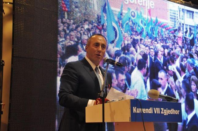 Leader of AAK pledges for the rule of law and a developed economy