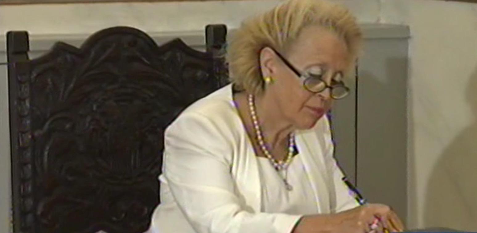 Vasiliki Thanou the first woman Prime Minister of Greece