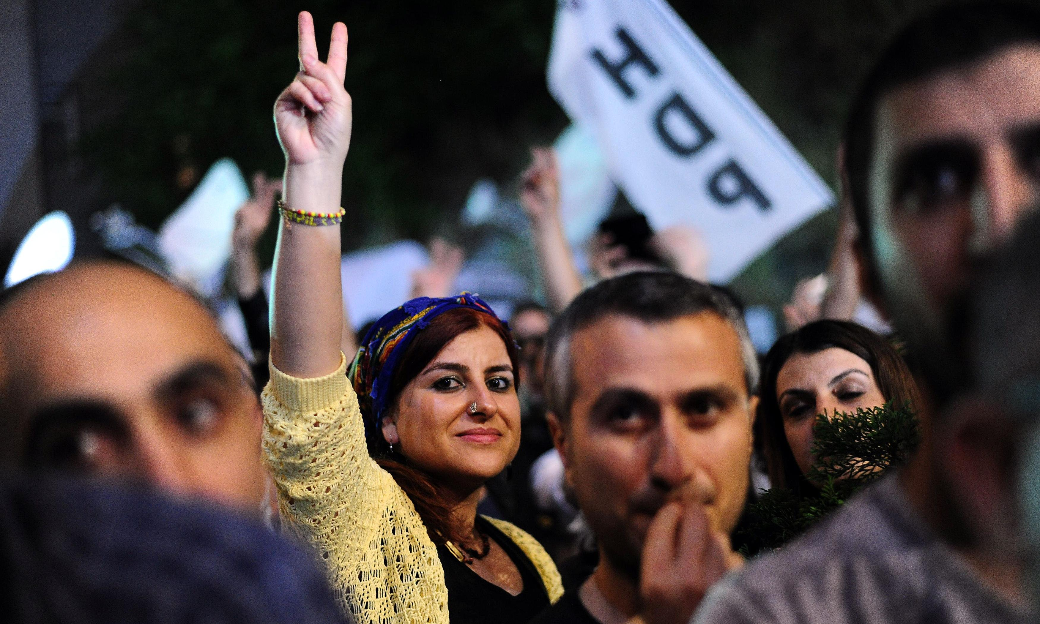 Polls show the pro-Kurdish HDP as third political power