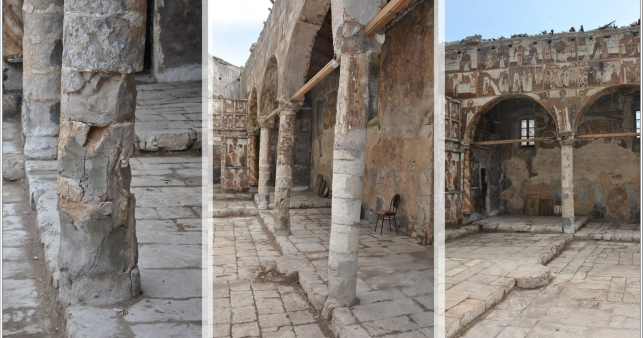 Monuments of Cultural Heritage in Albania are being restored