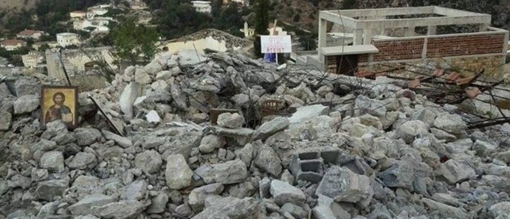 Demolition of St. Athanasios in Himara brings the strong reaction of Athens