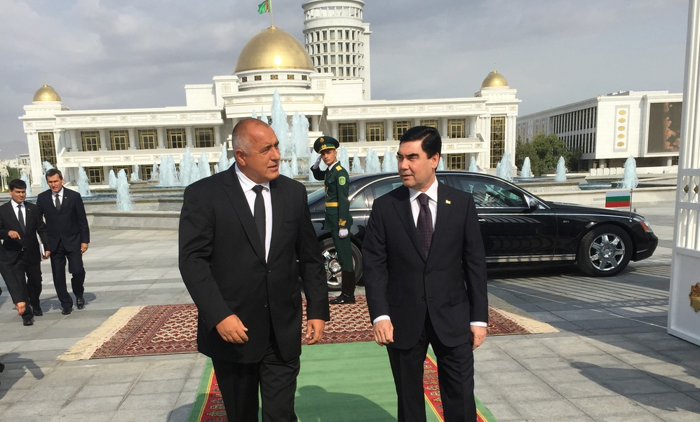 Bulgaria seeks closer ties with Turkmenistan, eyes possible gas deliveries