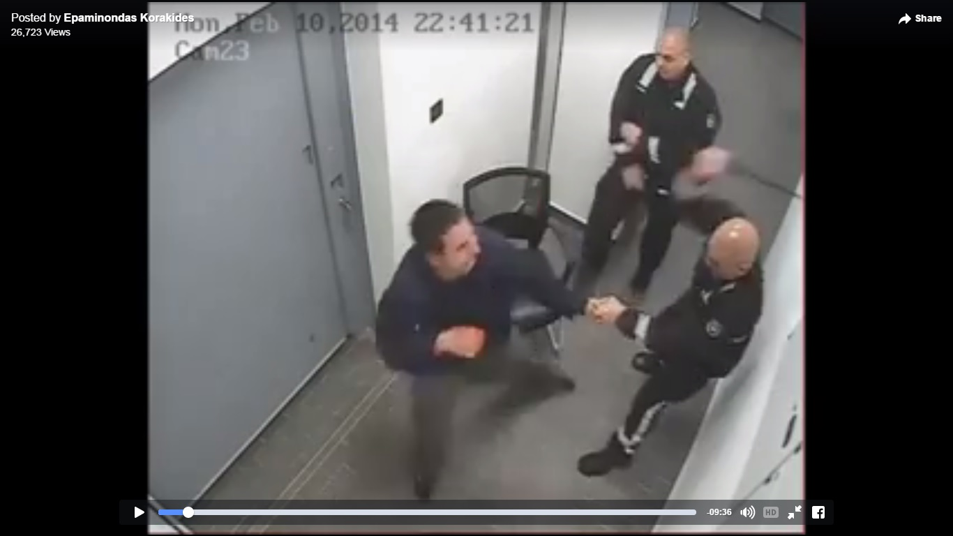 Police brutality caught on video