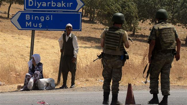 Eight dead soldiers in Turkey from a landmine explosion