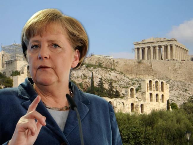 Merkel opens the issue of Greek debt
