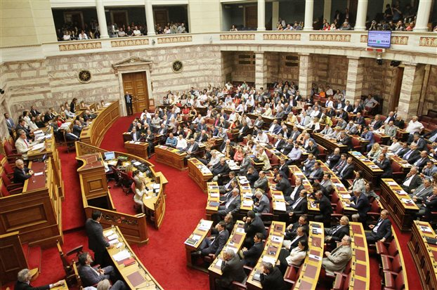 Greek Parliament votes in favour of the 3rd Memorandum – YES: 222, NO: 64, Present: 11