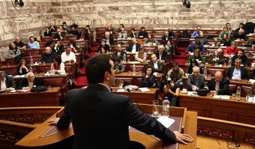 Syriza heading for split as parliament discusses bailout