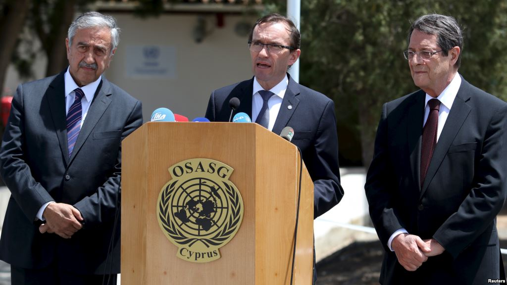 Eide: Turkey's support to the Cyprus talks is essential