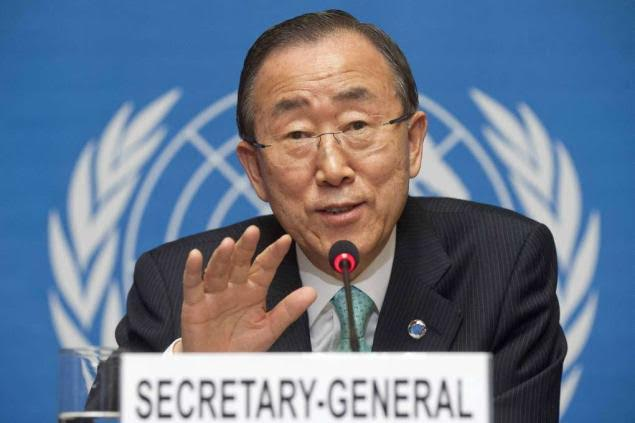 UN Secretary General condemns violence manifested by opposition parties