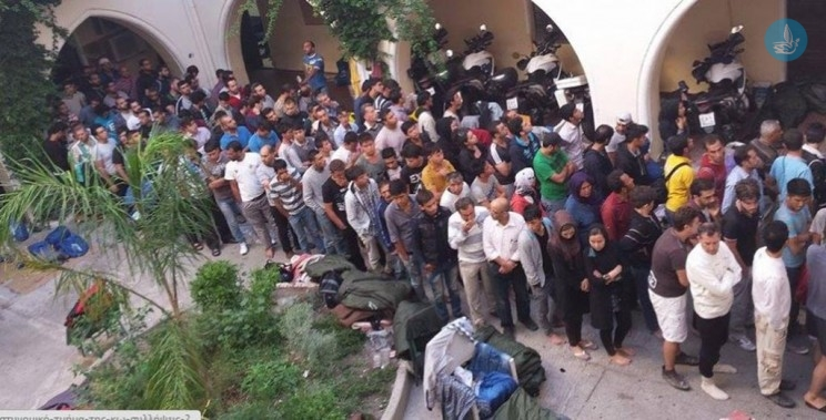 Explosive situation in Kos with the refugees