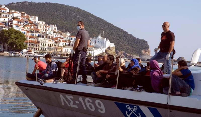 Five times more migrants entered Greece this year