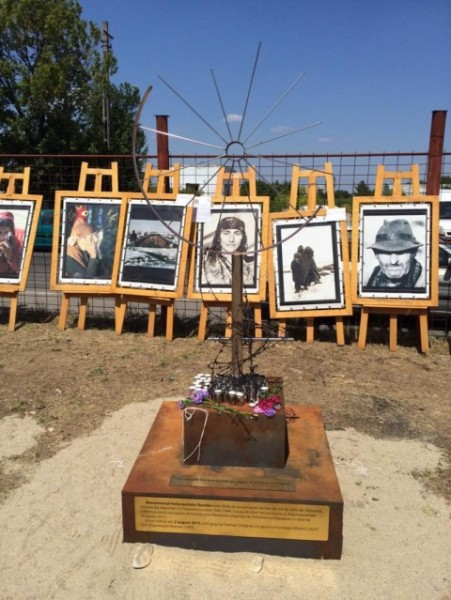 Romania unveils first monument dedicated to Roma Holocaust victims