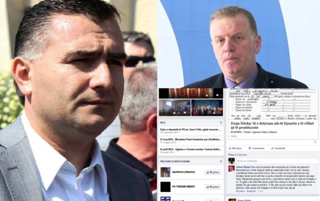 Outrageous accusations exchanged by two members of the Albanian Parliament
