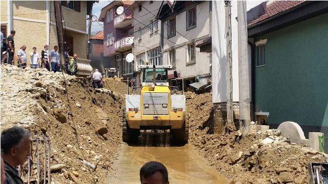 Government to compensate the damages caused by floods in Tetovo