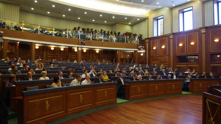 Kosovo's parliament votes in favor of the creation of the Special Tribunal