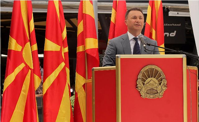 Day of the Republic in FYROM associated with political and nationalist messages
