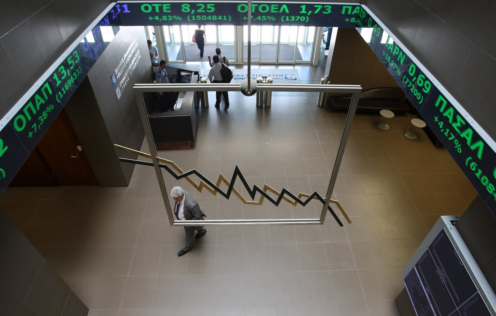 Athens Stock Exchange continues to struggle