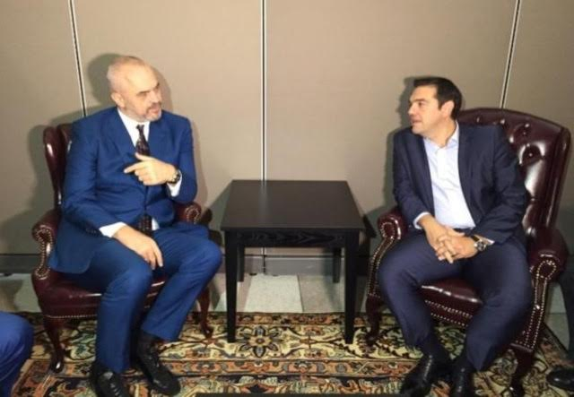 Rama and Tsipras meet for the first time in New York