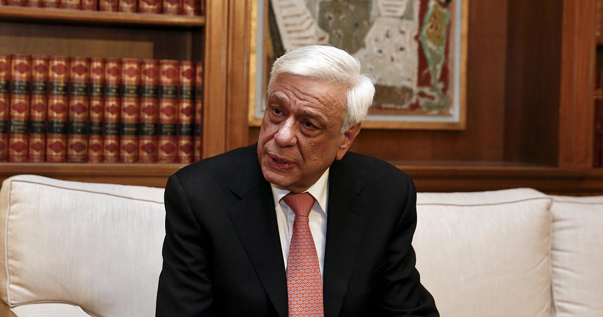 Pavlopoulos sends congratulatory message on the 66 years since the founding of the People's Republic of China