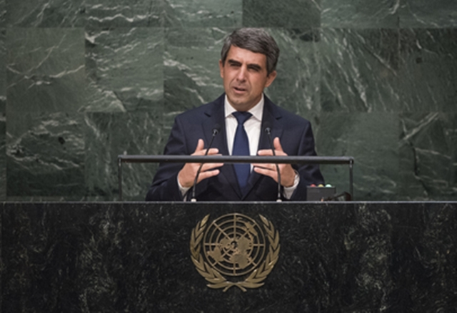 Bulgarian President in UN call for eradicating poverty, building sustainable economy, stable societies