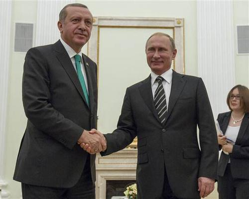 Erdogan attends opening of Mosque in Moscow