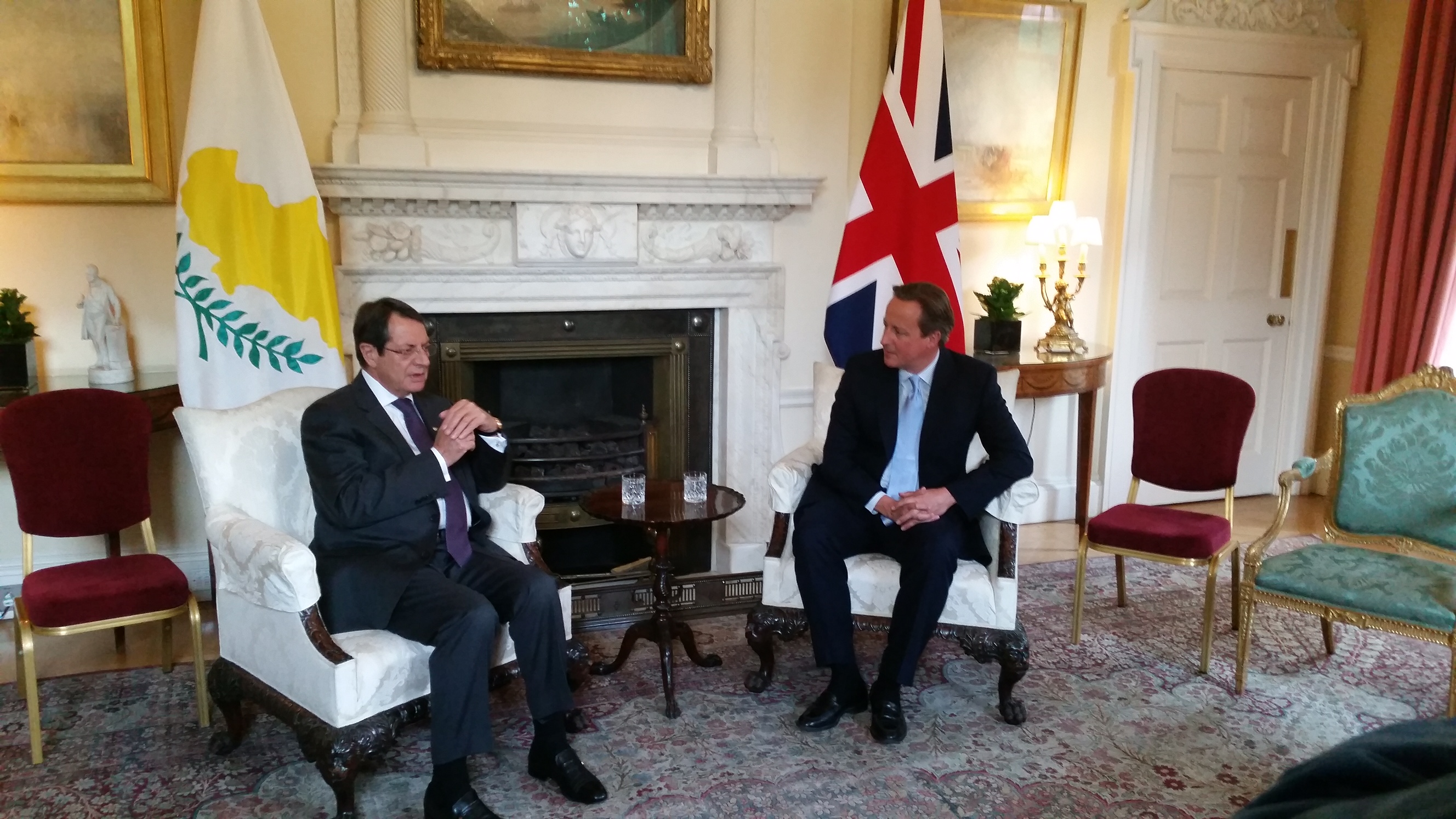 UK not desiring the Cyprus guarantees security arrangement to continue