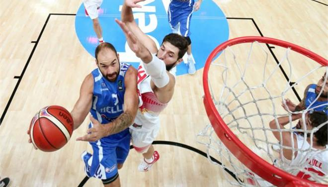 Eurobasket 2015: Greece left out of semi-final after losing to Spain