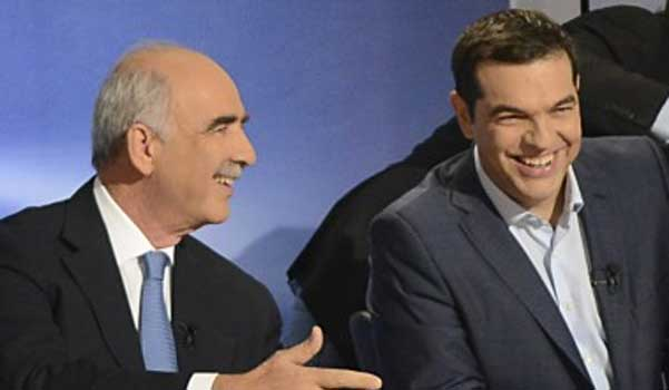 "Tsipras turns down ""grand coalition"" invitation by Meimarakis"