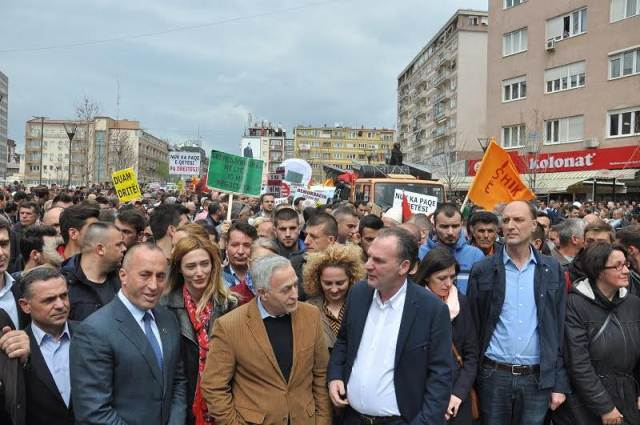 Kosovo opposition warns massive protests to overthrow the government