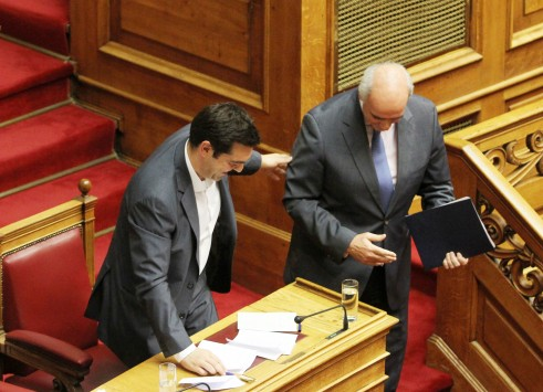 Syriza quick to shoot down grand coalition talk