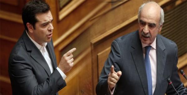 The pluses and minuses of Tsipras and Meimarakis