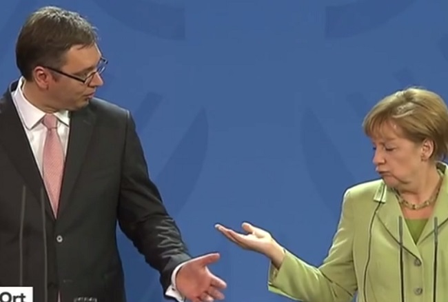 Merkel: Serbia especially affected by refugees crisis