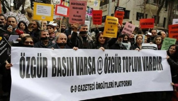 Arrests and prosecutions of journalists in Turkey