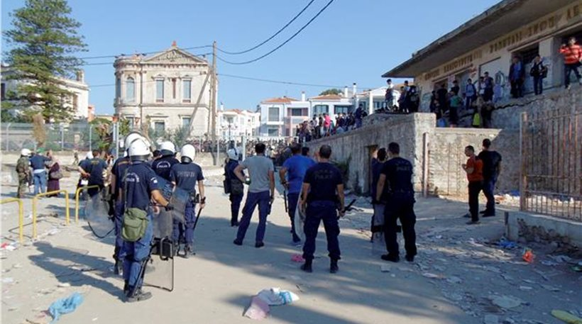 New incidents between refugees in Lesvos