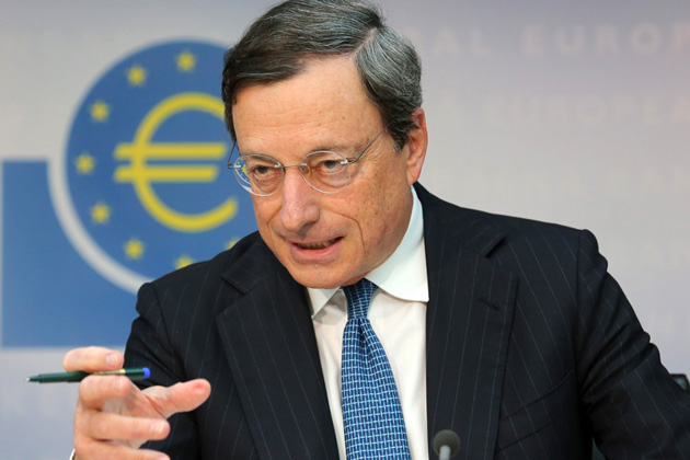 Draghi outlines conditions for Greece to benefit from QE