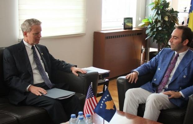 Delawie: USA backs Kosovo's economic development