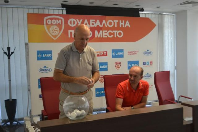 Draw is made for the Macedonian football Cup