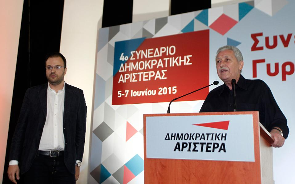 Theoharopoulos – Kouvelis fight over the cooperation with PASOK