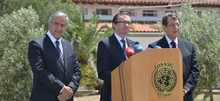Eide: Leaders decided to intensify Cyprus talks