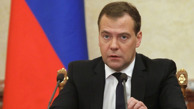 Medvedev: EU demands Serbia to give up free trade with Russia