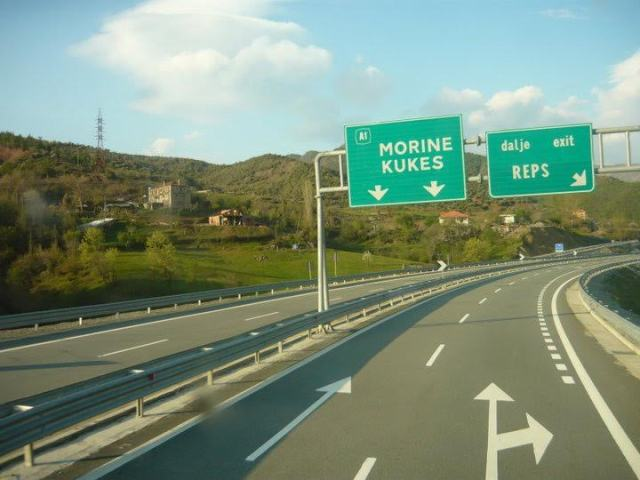 Albanian authorities grant a concession for a partially completed highway