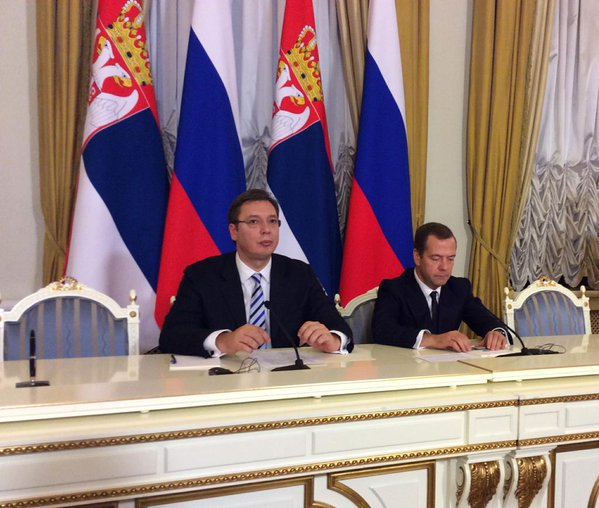 """""""Rational friendship"""" of Russia and Serbia"""