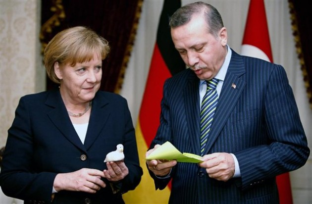 Merkel paid Ankara to act as guardian of it borders?