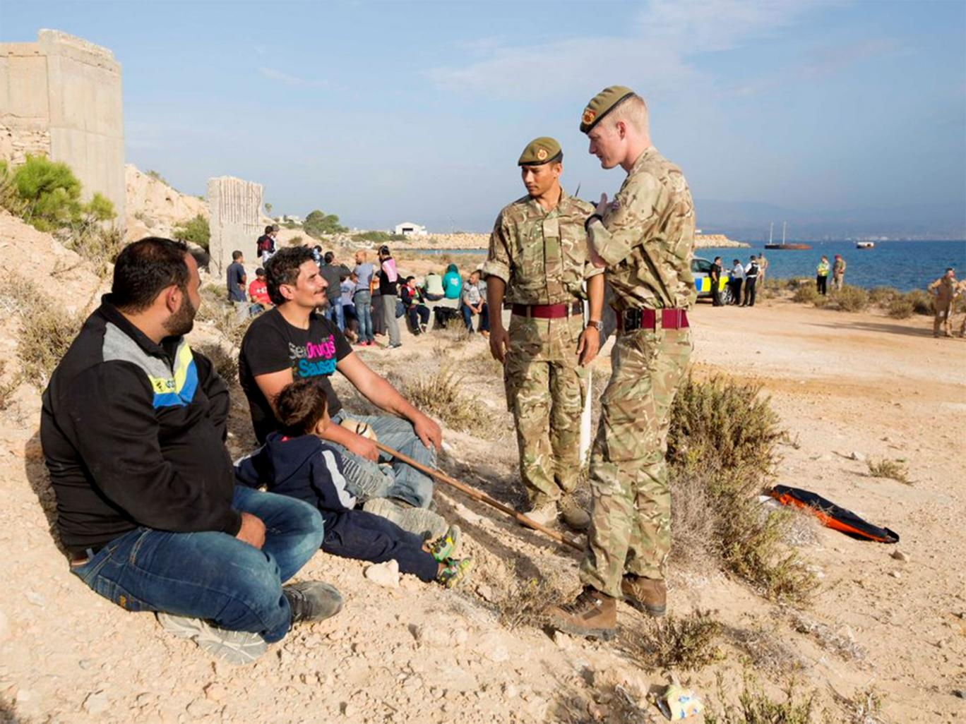 RAF bases refugees raise serious questions for Cypriot and British authorities