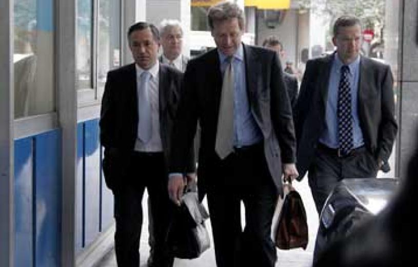 """Quadriga"" kicks off Greek bailout program review"