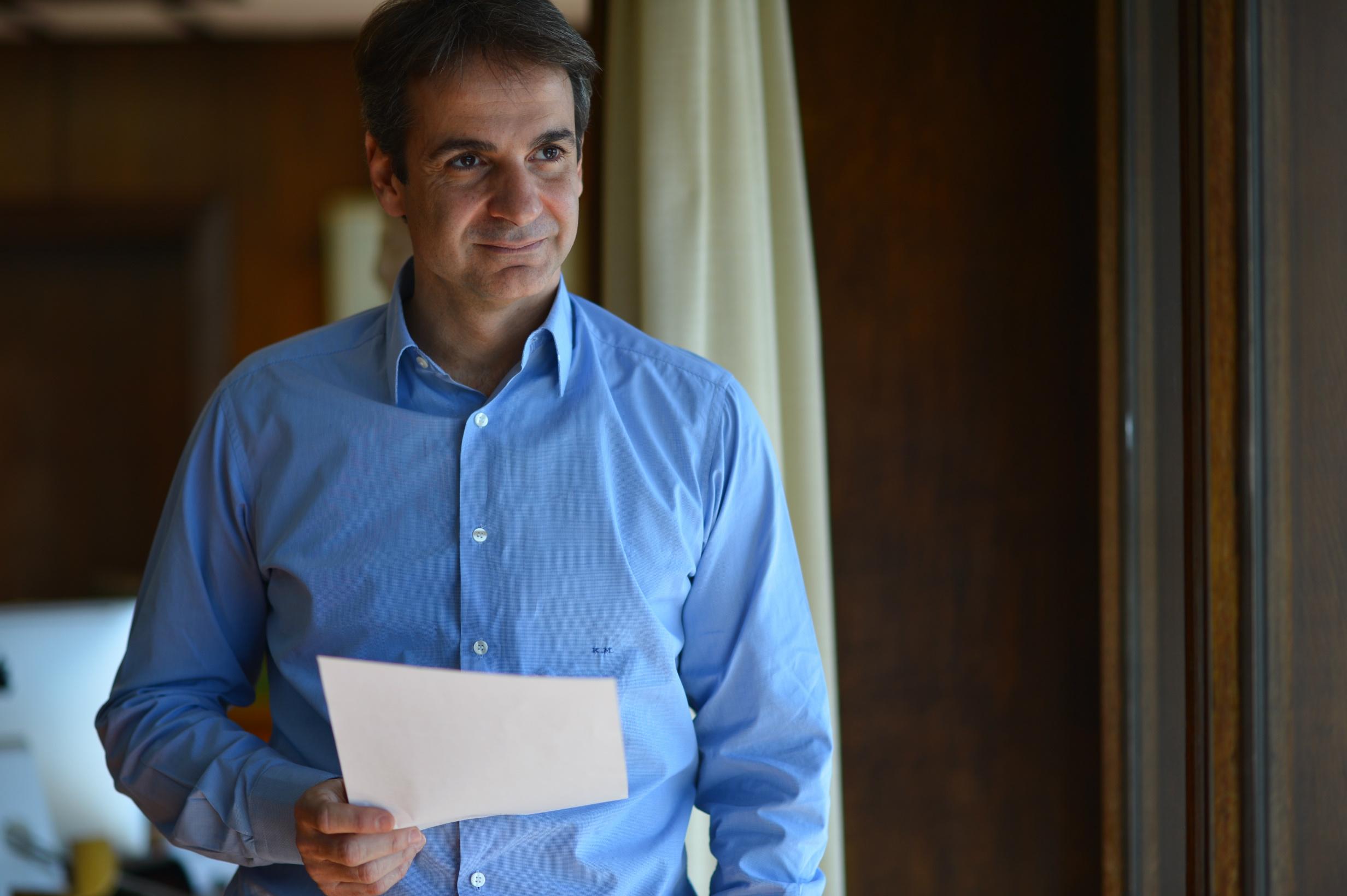 Interview IBNA: Kyriakos Mitsotakis